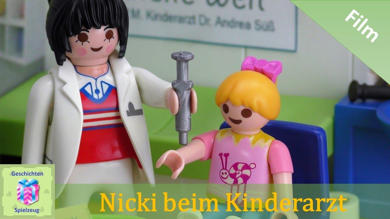 Playmobil Film Deutsch Nicki Wird Geimpft Beim Kinderarzt