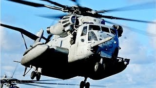 SUPER POWERFUL !!! US Military CH-53 Military Transport Helicopter Aircraft