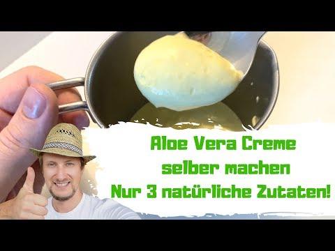 Aloe Vera Creme Selber Machen 🌞 Einfaches Rezept 3 Zutaten