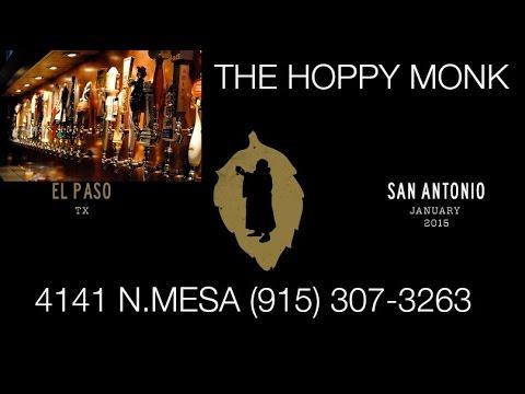 El Paso Happy Hour - Bar & Drink Specials - The Hoppy Monk