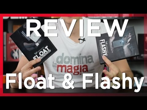 Hacer desaparecer un Smartphone y levitaciones - Review Flashy y Float