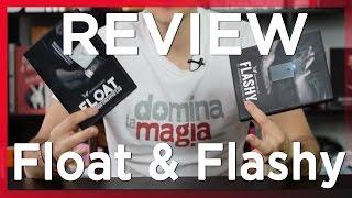 Hacer desaparecer un Smartphone y levitaciones – Review Flashy y Float