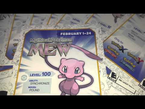 free pokemon mew code
