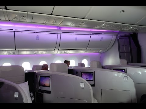 Air New Zealand 787-9 Business Premier Full Flight