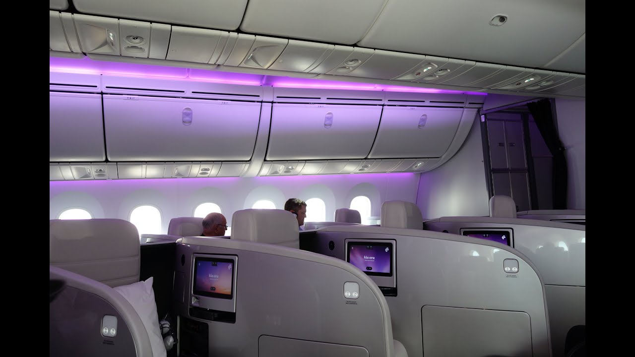 Air New Zealand 787-9 Business Premier Full Flight - YouTube