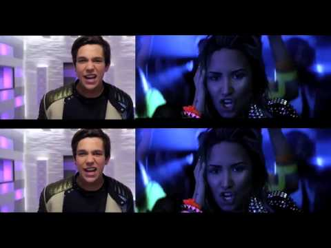 Austin Mahone ft Pitbull & Demi Lovato MMM Neon Lights Yeah
