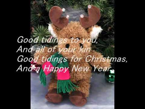 Christmas Songs - We Wish You a Merry Christmas Lyrics.avi - YouTube