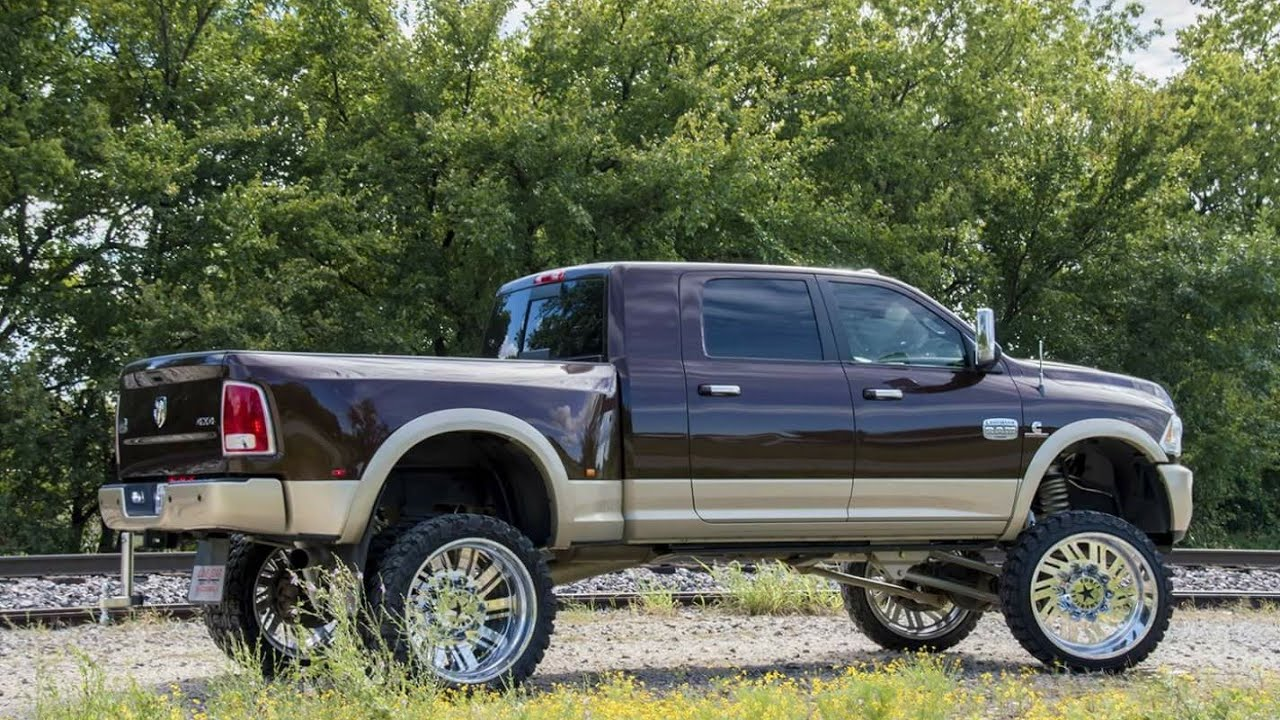 2013 Dodge Ram 3500 With A 8 Bds Lift Kit And 26x14 American Force