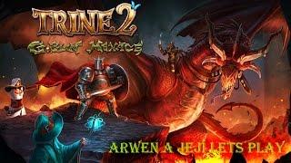 Trine 2: Goblin menace #9 Arwen a její Let´s Play