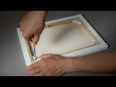 Winsor & Newton Professional Cotton Canvas - How to use the Winsor & Newton Pro-Stretcher™
