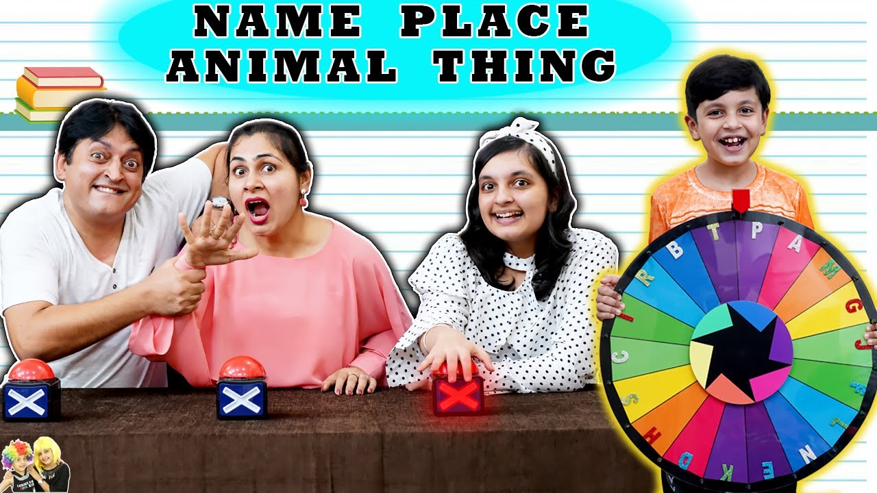 Download NAME PLACE ANIMAL THING | Use your brain challenge | General Knowledge Test | Aayu and Pihu Show