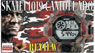 Aliexpress Review #016 - Relógio SKmei Camuflado 1019 MAZZETO IMPORTS