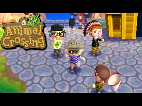 Animal Crossing: New Leaf - Group Goofs (Nintendo 3DS Gameplay Walkthrough Ep.9)