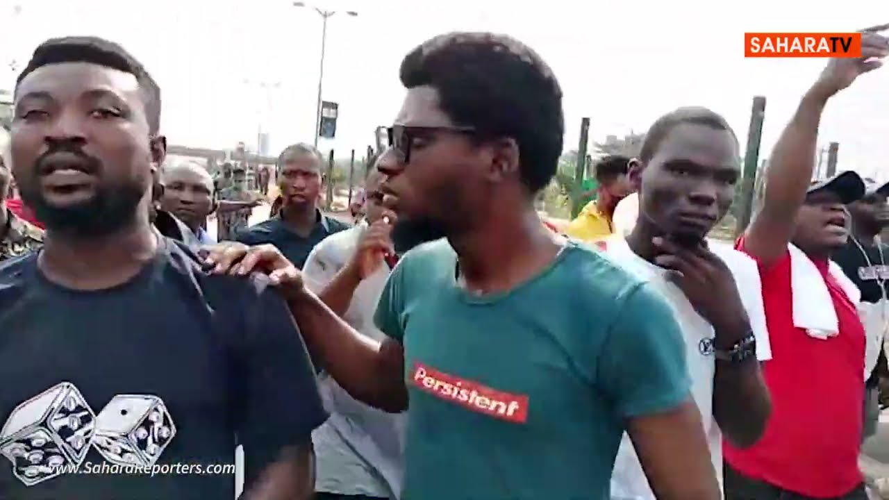 June 12: Police Shoot Tear Gas At Peaceful Protesters In Lagos