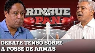 RINGUE DA PAN #5 - POSSE DE ARMAS: MAJOR OLIMPIO E ORLANDO SILVA NUM DEBATE TENSO