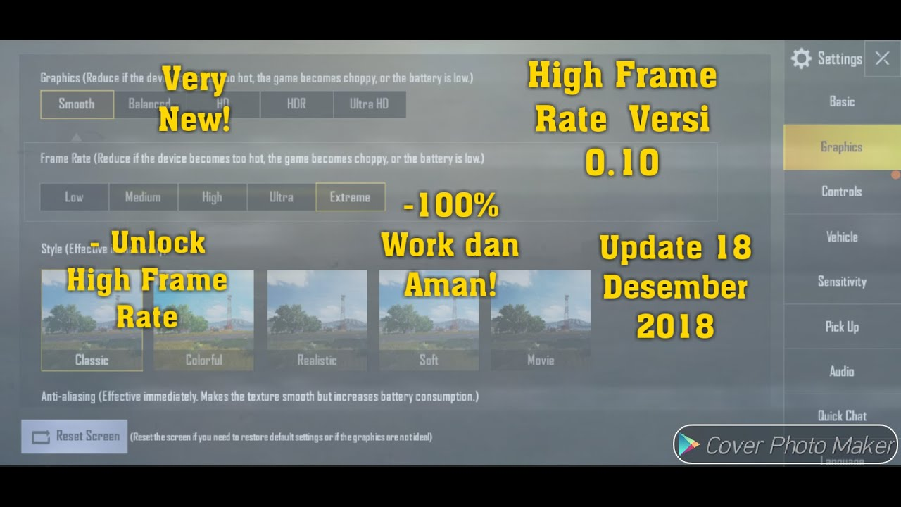 Reduce Lag In Android Pubg Mobile With Gfx Tool: Download Lagu Cara Setting Grafik High Pubg Mobile Terbaru