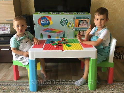 Детский универсальный столик со стульчиком Tega Baby Multifun