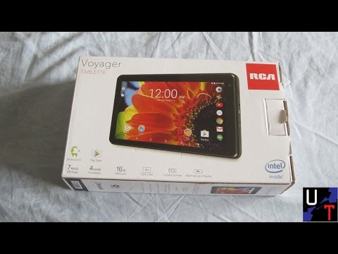 Get New 7' RCA Quad Core Voyager Touchscreen 16GB Wifi 1GB 1.2Ghz Android Tablet Unboxing! Screenshots