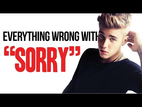 "Everything Wrong With Justin Bieber - ""Sorry"""