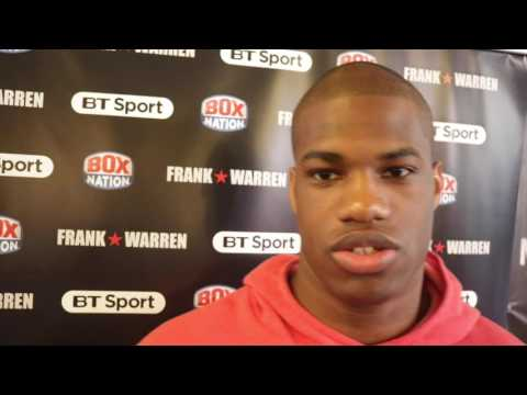 DANIEL DUBOIS - 'MY PLAN IS TO BE THE GREATEST HEAVYWEIGHT FIGHTER TO EVER COME OUT OF ENGLAND'