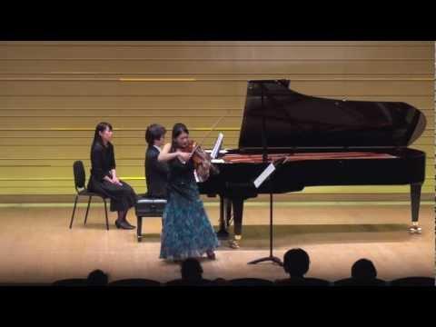 Szymanowski / Violin Sonata op.9  mov.2 mov.3
