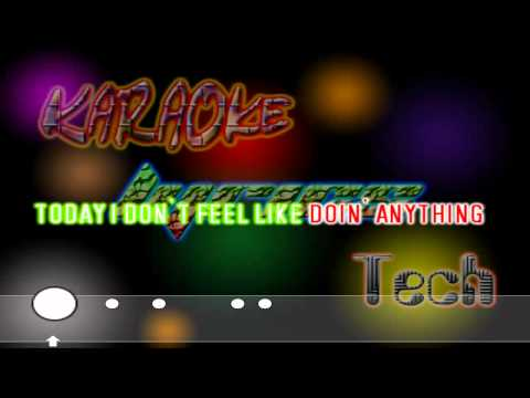 Bruno Mars - The Lazy Song - Lyrics / Karaoke
