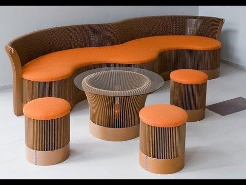 Мебель из картона. Мебель из картона - лучшие идеи.