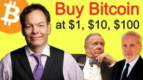 Max Keiser Told Jim Rogers & Peter Schiff To Buy BITCOIN at $1, $10 & $100