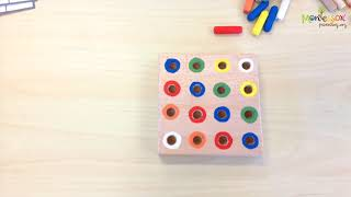 DIY ACTIVITIES FOR CHILDREN - PRACTISING FINE MOTOR SKILLS WITH COLORS