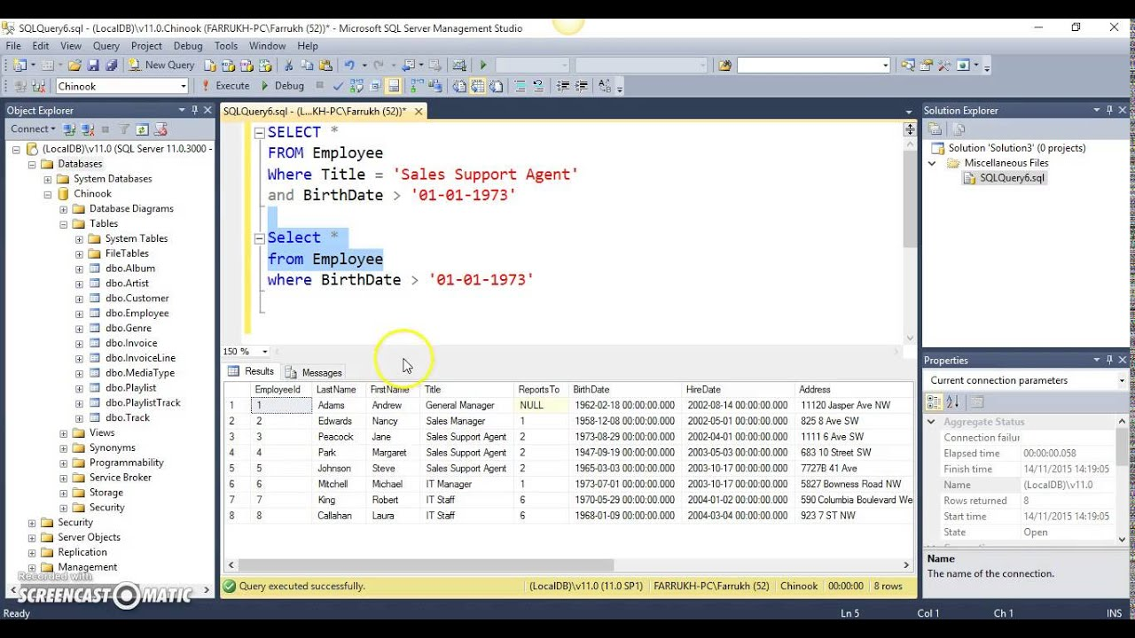 sql_09.T-SQL-WHEREClausewithANDOROperators-YouTube