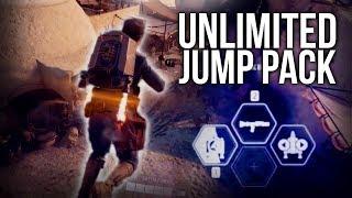 UNLIMITED JUMP PACK GLITCH (tutorial) - Star Wars Battlefront 2