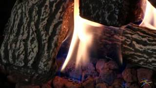 Uniflame Propane Gas Fire Pit With Grey Slate Top - Product Review Video