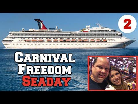 Carnival Freedom Cruise Vlog 2 | Sea Day | Captain's Celebration| Fun Aboard Show | Elegant Night
