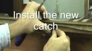 How To Repair Furniture: Lane Cedar Chest Lock Replacement