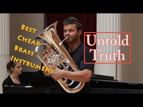 Truth about CHEAP BRASS INSTRUMENTS!!!