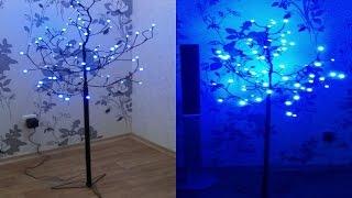 как сделать светодиодное дерево своими руками. LED tree. how to make