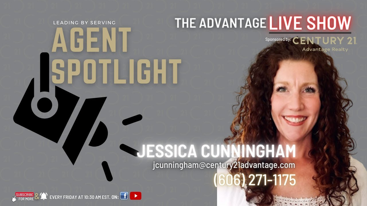 Agent Spotlight Jessica Cunningham with CENTURY 21 Advantage Realty - Somerset Kentucky