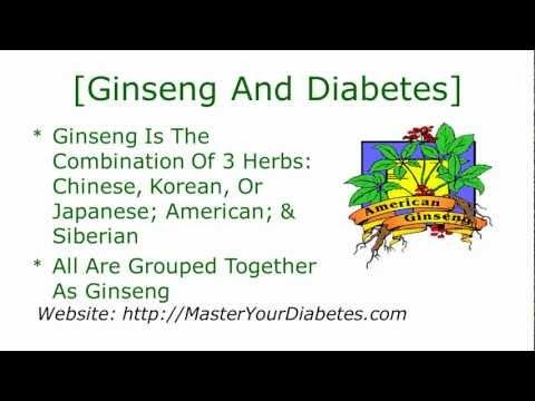 Ginseng And Diabetes