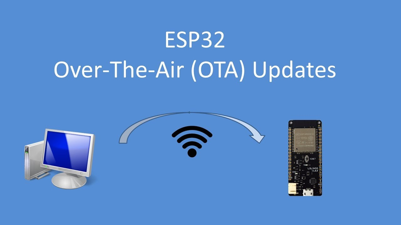 Tech Note 082 - ESP32 Over-the-Air (OTA) Updating