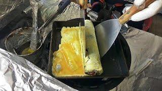 진주 계란말이김밥 맛집 ! 중앙시장 총각김밥 Rolle…