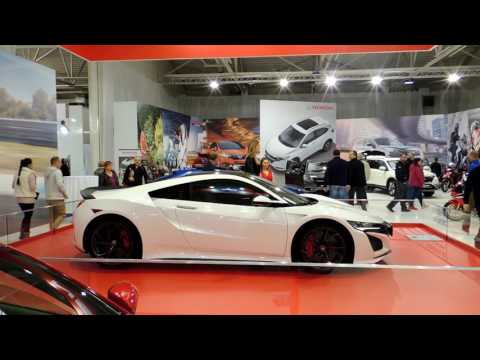 New Honda NSX and best sport cars of Bratislava Motor Show 2017