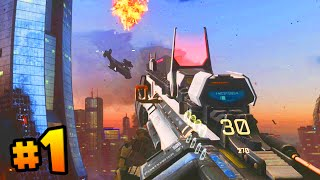 "Call of Duty ADVANCED WARFARE Walkthrough (Part 1) - Campaign Mission 1 ""Induction"" (COD 2014)"