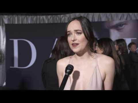 Fifty Shades Darker Premiere  || Cast & Crew Soundbites || SocialNews.XYZ
