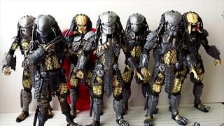NECA AVP Predators Collection