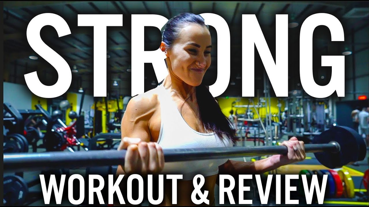 <div>FULL UPPER BODY WORKOUT FROM MY NEW GUIDE 'STRONG' + EXPLAINED</div>