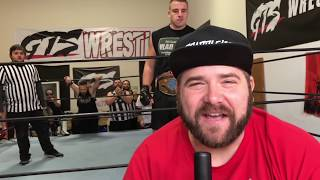 TOSSED OFF AMBULANCE CRAZY GTS SOLID STEEL SERIES PPV SUPERCARD EVENT
