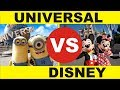 FINALLY! Disney Land VS Universal Studios Orlando