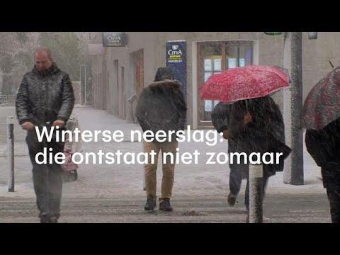 Winterse neerslag: zo ontstaan sneeuw, hagel en ijzel - RTL NIEUWS