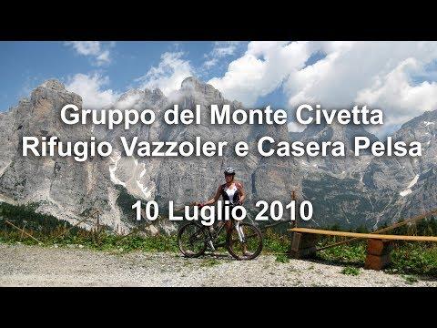 Gruppo Del Monte Civetta - Rifugio Vazzoler E Casera Pelsa - 10 Luglio 2010 - Mountainbike
