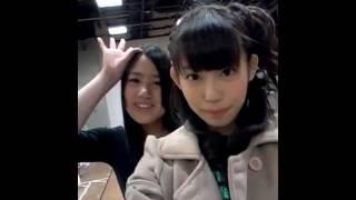 NMB48 TeamM 山岸奈津美(なつみん) NMB48 研究生 沖田彩華(あ~ぽん...